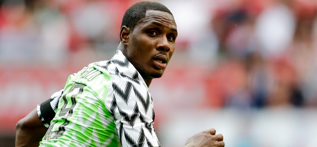 """""""Odion Ighalo scored first Nigeria hat-trick in the win over Libya"""""""