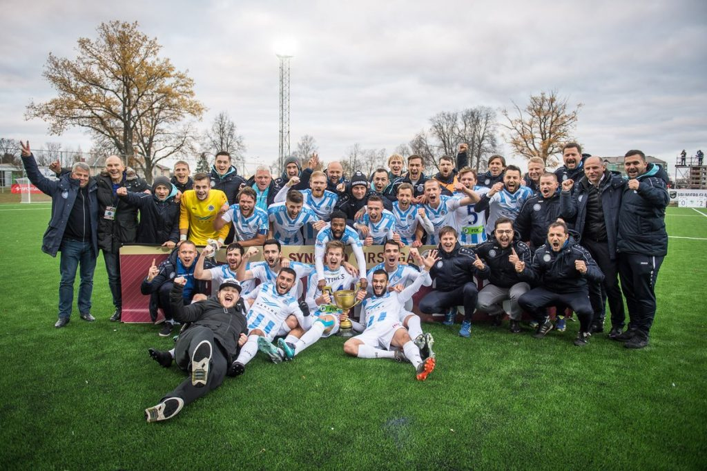 """FC Riga are the Latvian League champions for the first time in four seasons."