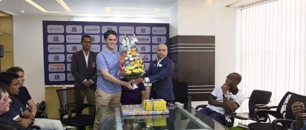 Ex-Sierra Leone coach Johnathan Mckinstry joins Saif Sporting Club