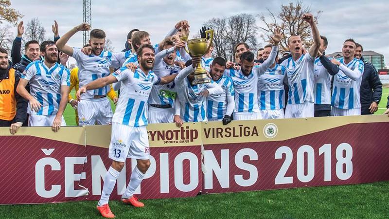 Riga FC Crowned Virsliga Champions