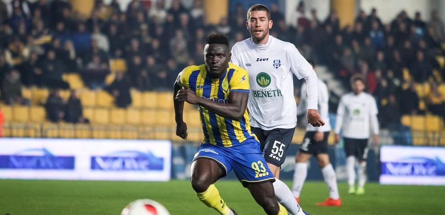 Panetolikos striker Alhassan Kamara facing five months out injured