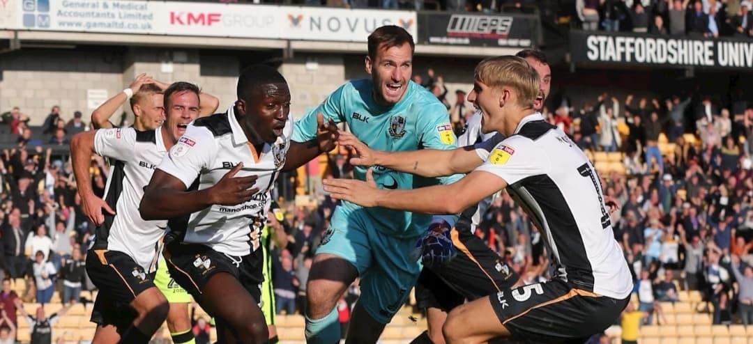 Boreham Wood's striker Idris Kanu dubbed a 'Rising Starlet'
