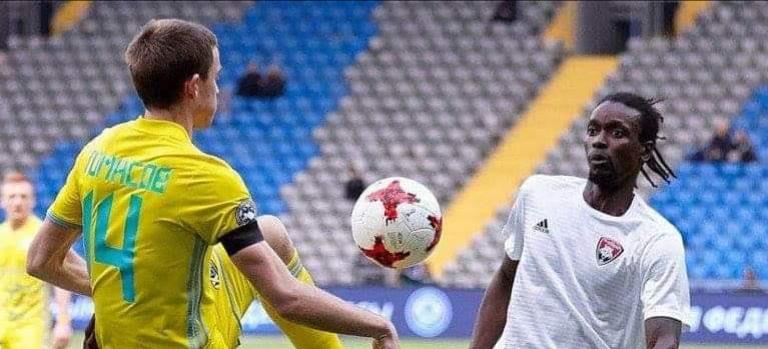 Done deal: Sierra Leone midfielder Kamara joins Azerbaijan club Kesla FK
