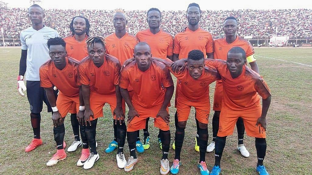 Mighty Blackpool starting team defeated at the Siaka Steven Stadium on Sunday.