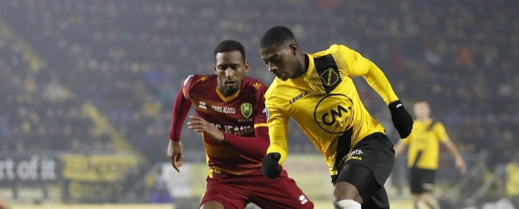 Kaikai makes Eredivisie debut as NAC Breda snatch draw