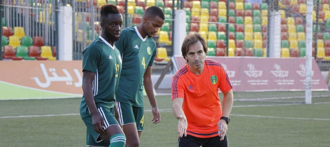 Mauritania coach Corentin Martins pens new contract until 2021