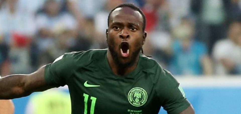 Nigerian winger Victor Moses signs with Fenerbahce on loan.