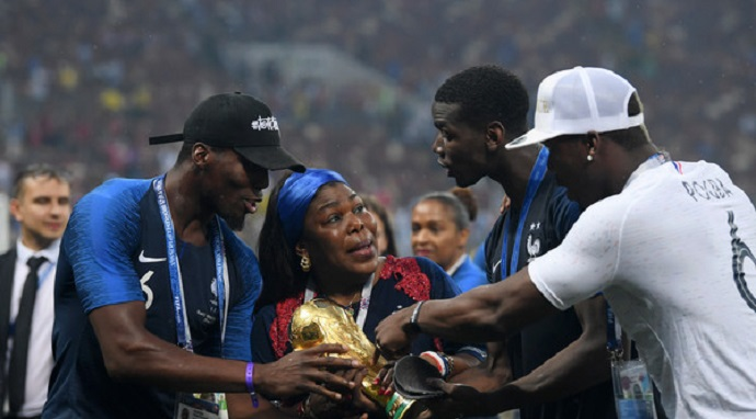 Pogba's mother appointed women's football ambassador in Guinea
