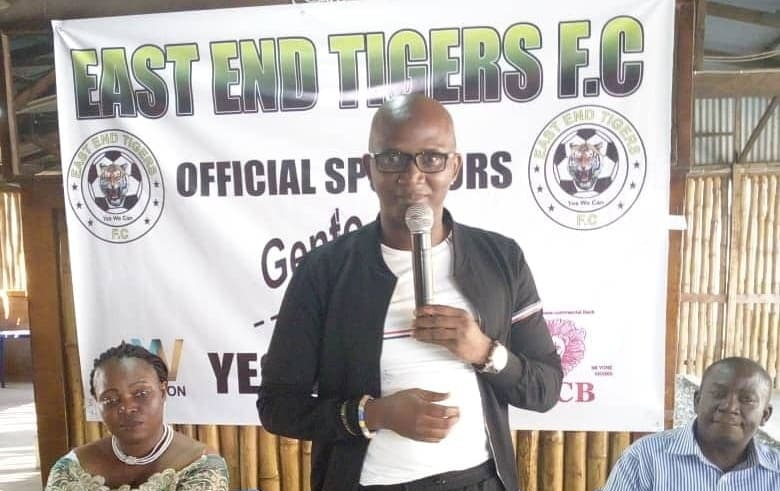East End Tigers appoint Hon Ibrahim Aziz Bangura as vice-president