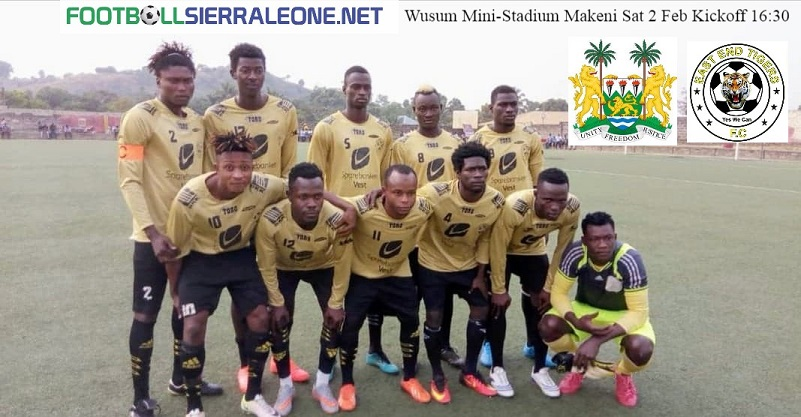 East End Tigers coach Mansaray eyes victory over Military team RSLAF