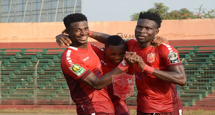 CAF CL: Horoya edge Platinum, Mamelodi Sundowns held in Abidjan