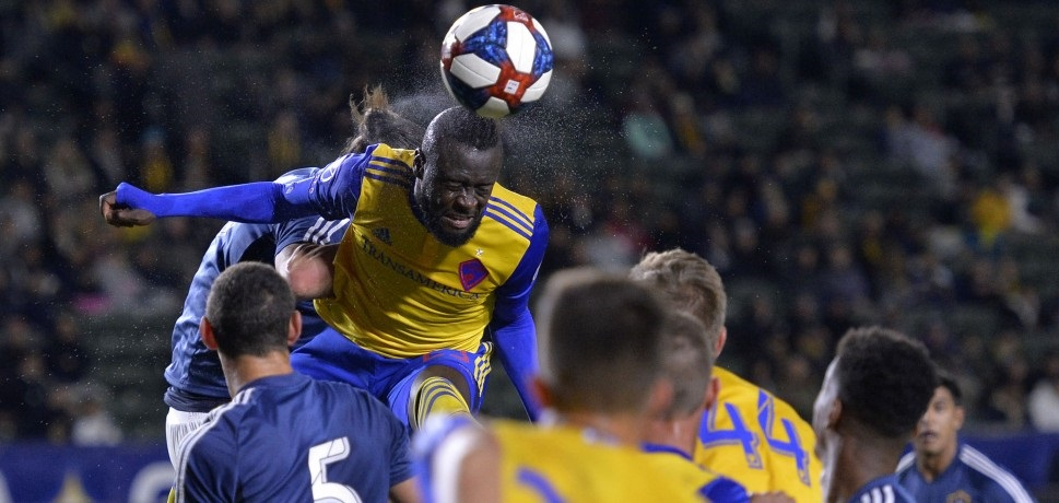 Striker Kei Kamara opens Colorado Rapids account