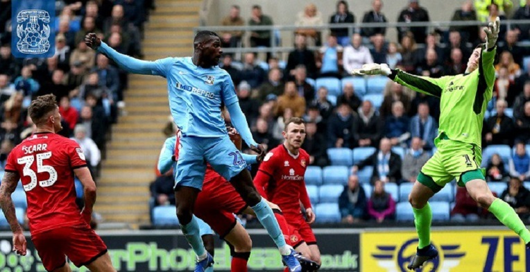 Sierra Leone's Amadou Bakayoko scored the opener for Sky Blues on Saturday