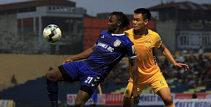 Mansaray's Becamex Binh Duong set for AFC Cup in Jakarta