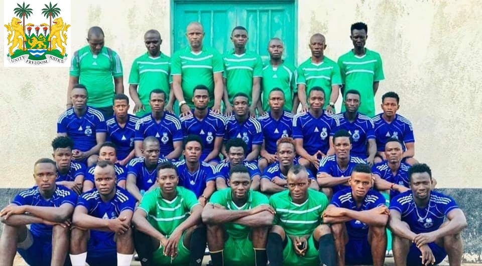 The Republic of Sierra Leone Armed Forces, (RSLFA) top-flight team in photo. (2)