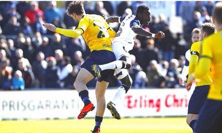 Alhaji Kamara on target for Vendsyssel in six-goal drama