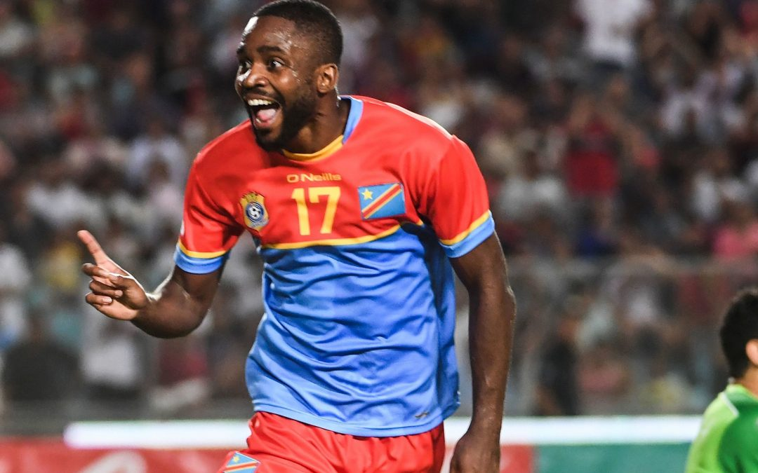 Cedric Bakambu fires DR Congo past Liberia to secure Afcon ticket