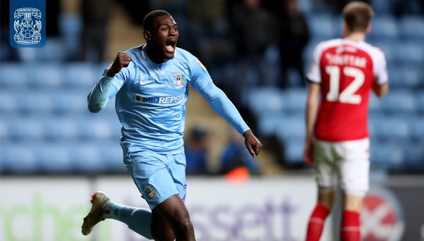Coventry striker Bakayoko scores in win over Fleetwood