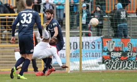 Striker Kargbo nets in Berliner win over Chemnitzer