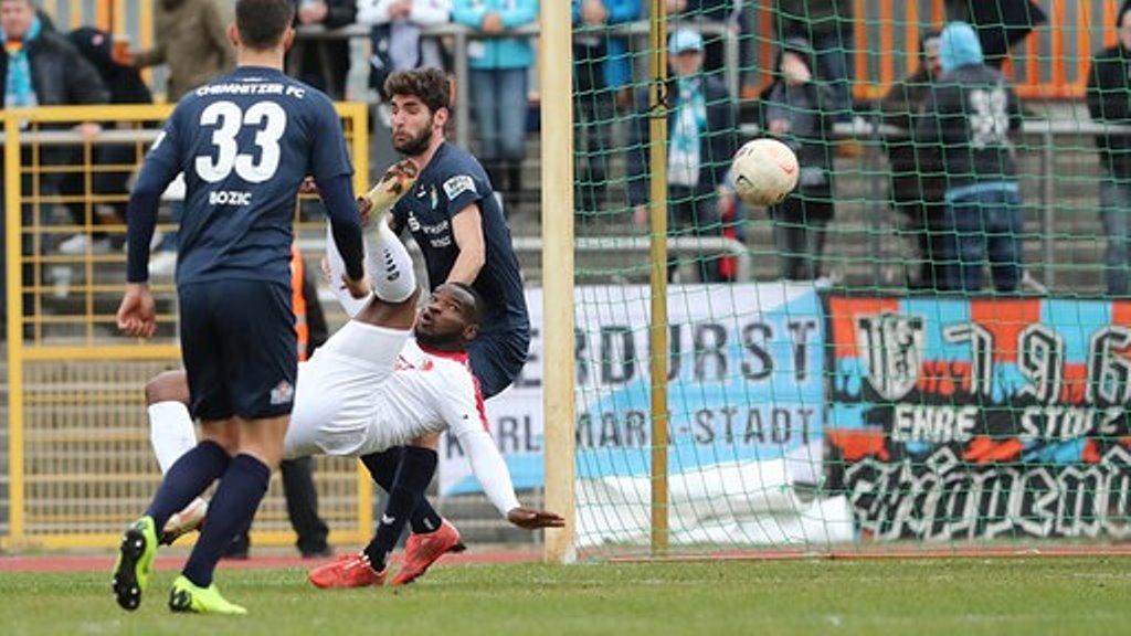 Striker Kargbo nets in Berliner win over Chemnitzer