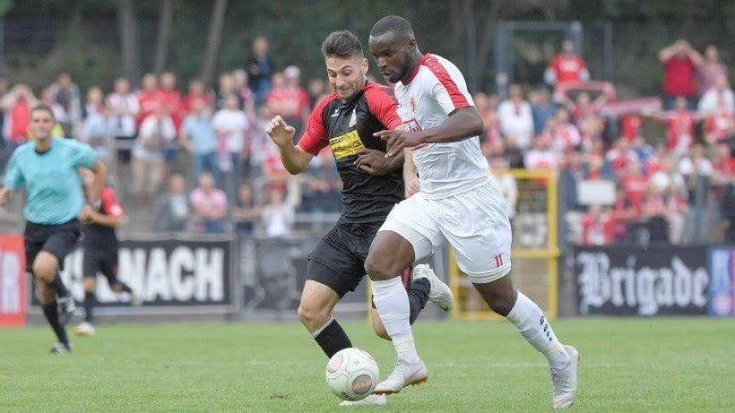 German-based attacker Kargbo happy to find top form