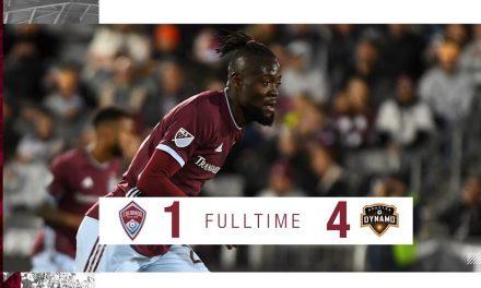 Recap: Kamara scores in Colorado's heavy defeat to Houston Dynamo