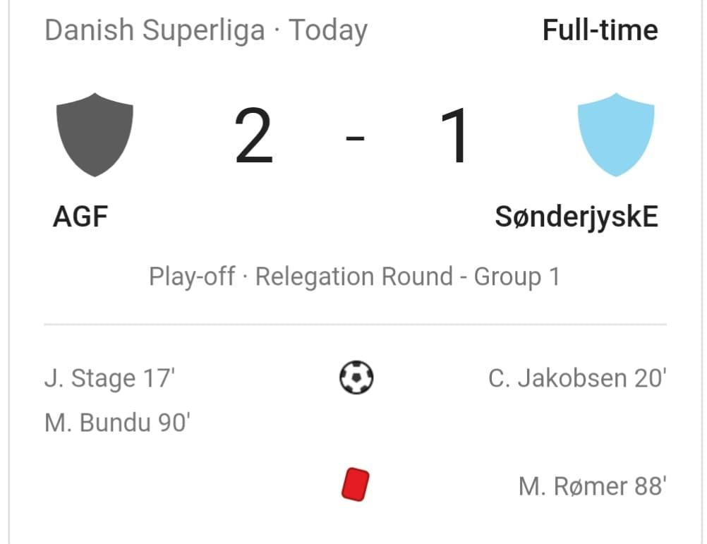 CERES PARK - APRIL 18, 2019, ROUND 30 Danish Superliga Group A