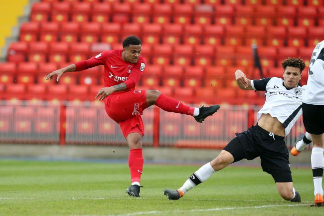 Josh Koroma scored for Leyton Orient as they were knocked off the top of the Conference Premier League after a 2-2 draw against Halifax on Saturday.