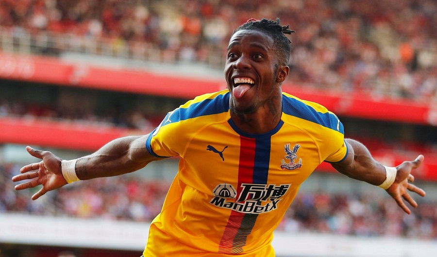Ivorian Wilfried Zaha helps Crystal Palace beat Arsenal