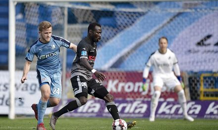Randers eye move for Sierra Leone striker Kamara