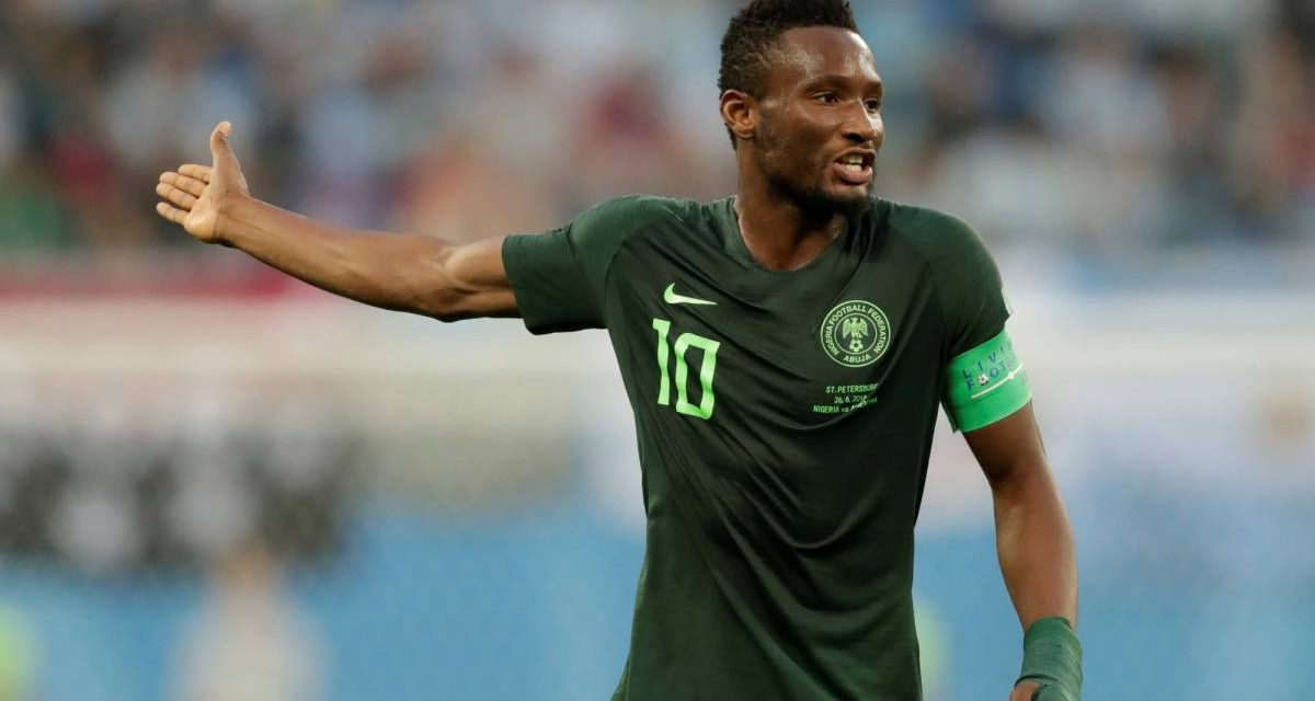Experienced midfielder Obi Mikel named in Nigeria Afcon squad