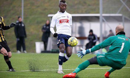 Bundu named in Danish Superliga's April team of the Month