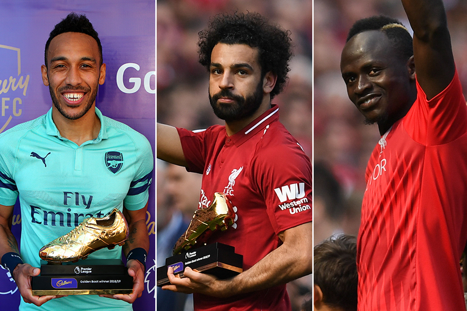 Three Africans share Premier League Golden Boot
