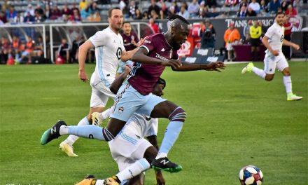 Rapids' striker Kamara named in MLS Team of the Week