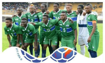 Sierra Leone creep up in Fifa rankings