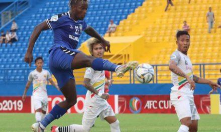 Striker Mansaray joins V-League side Ho Chi Minh City