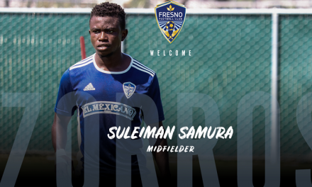 Midfielder Suleiman Samura pens first Pro-contract