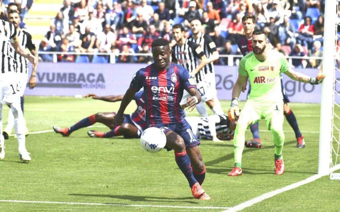 Getafe friendly excites FC Crotone's Augustus Kargbo