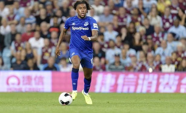 Nigeria's Alex Iwobi scores in Everton win over Wolves