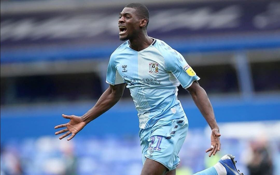 Striker Amadou Bakayoko to the rescue for Coventry City
