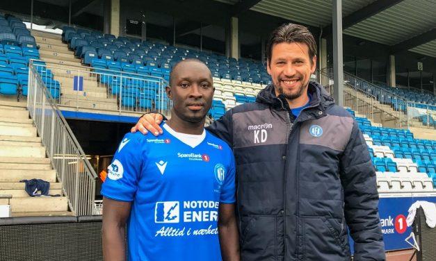 Alfred Sankoh signs for Norwegian sideNotodden FK