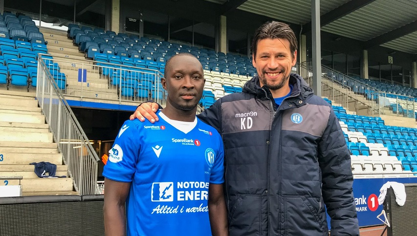 Alfred Sankoh signs for Norwegian side Notodden FK
