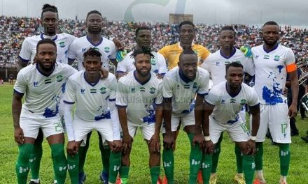 Sierra Leone down three places in latest Fifa ranking