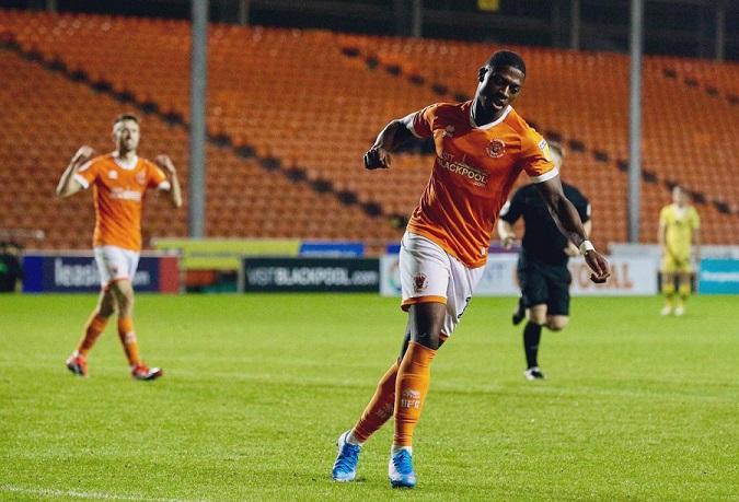 Sullay KaiKai wins August Goal of the Month award