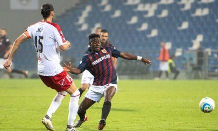 Reggio Audace attacker Kargbo thrilled after brace