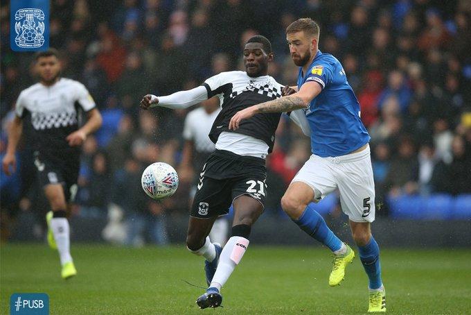 Amadou Bakayoko scores in draw at Peterborough