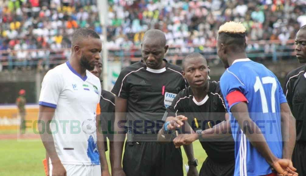 Burkinabe ref Jean Ouattara returns for Lesotho match