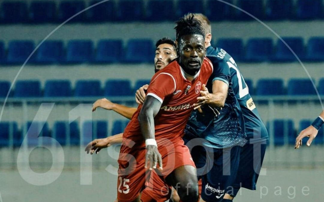 Keşla midfielder Kamara pleased with personal form