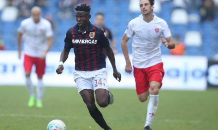 Attacker Augustus Kargbo earns spot in Serie C Team of the Week