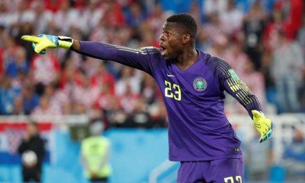 Nigeria keeper Francis Uzoho facing lengthy spell on sidelines